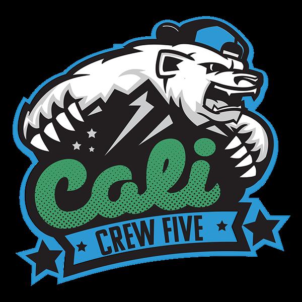 Crew Five Cali Logo on Behance.