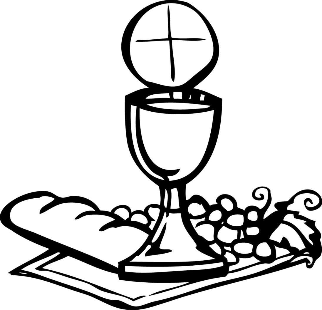 Free clipart chalice and host.