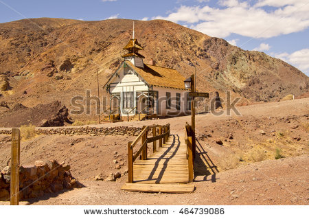 Calico Ghost Town Stock Photos, Royalty.