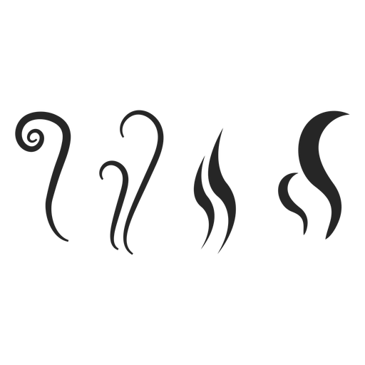 Hot drink elements icon.