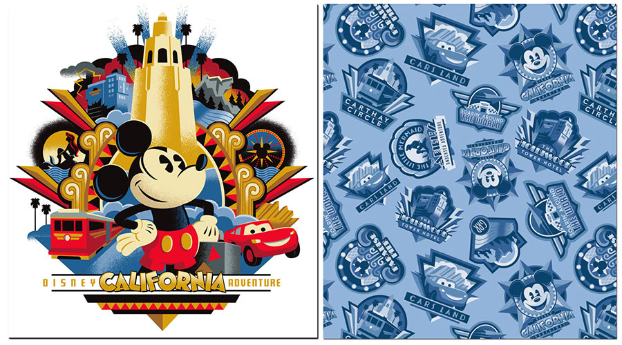 New Merchandise for Disney California Adventure Park Released at.