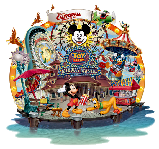California Adventure Clipart.