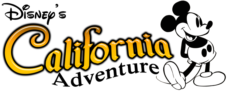 California Adventure Logos Clipart.