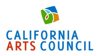 California Arts Council Grant.