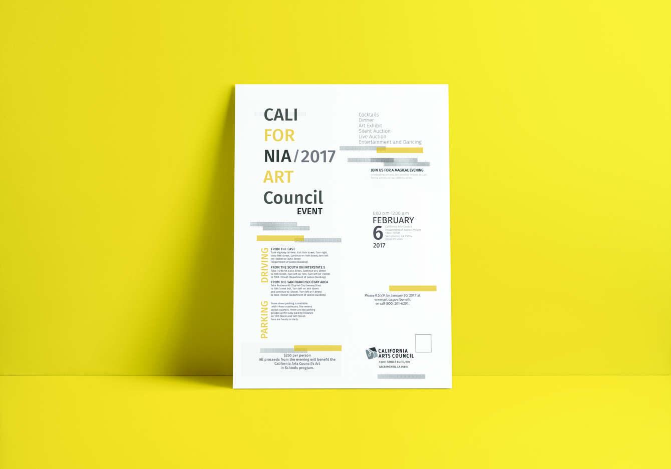 California Arts Poster.
