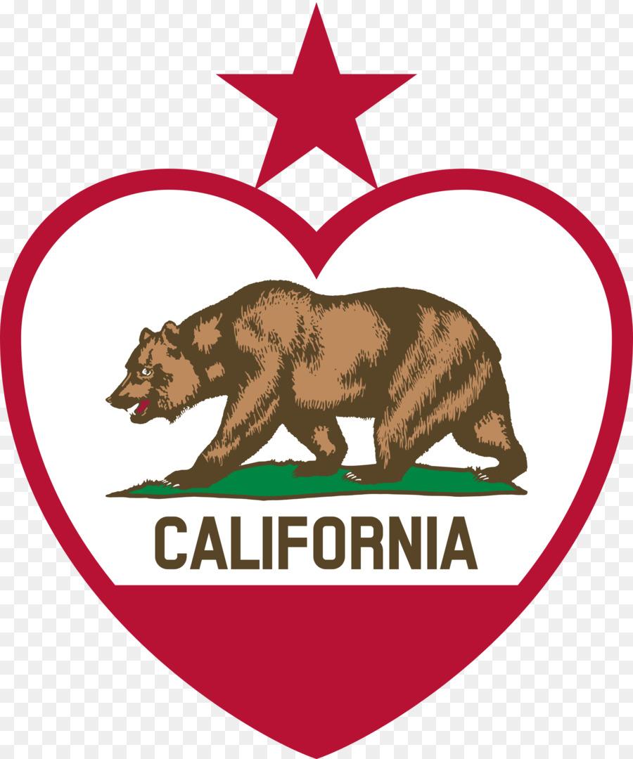 California Bear clipart.
