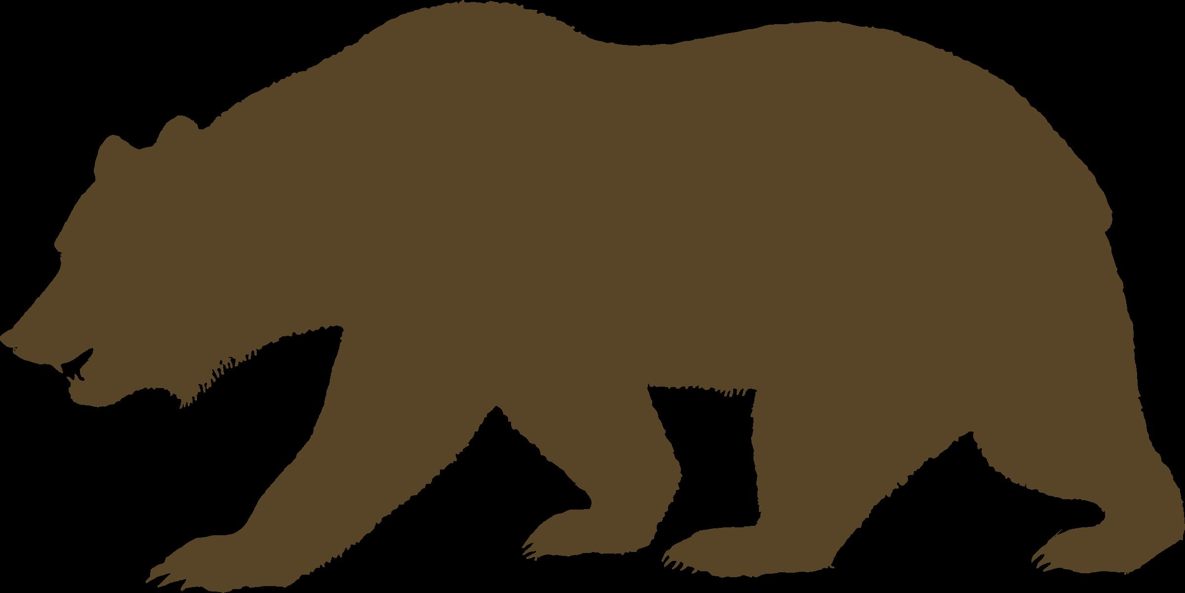 Free California Bear, Download Free Clip Art, Free Clip Art.