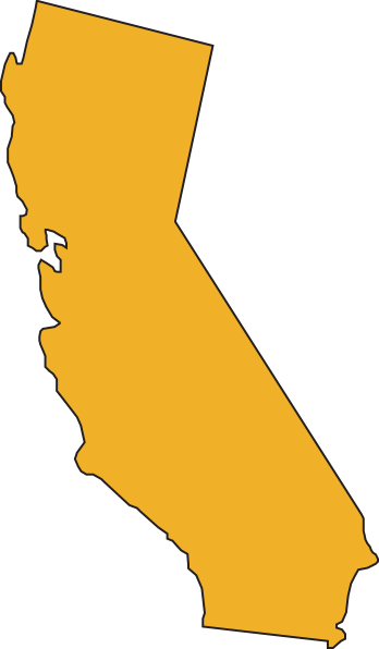 California State Yellow Clip Art at Clker.com.