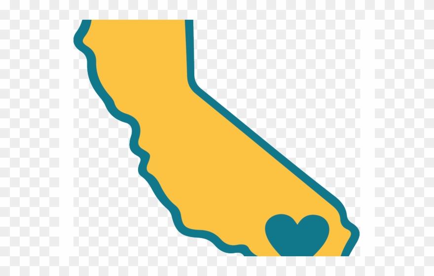 California Clipart Yellow.