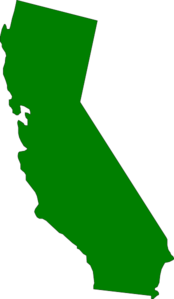 Green State California Clip Art at Clker.com.