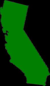 Green State California Clip Art at Clker.com.