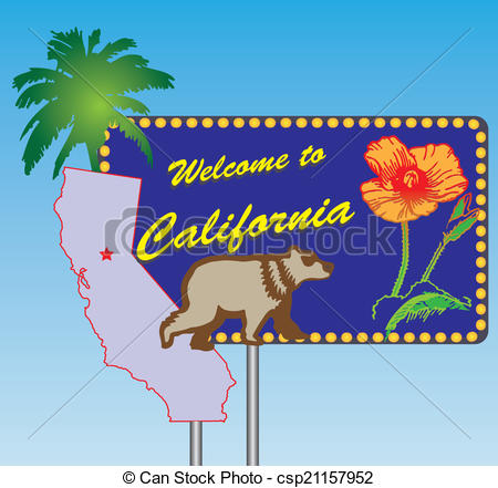 Welcome To California Clipart Conventional Clip Art Trending 9.