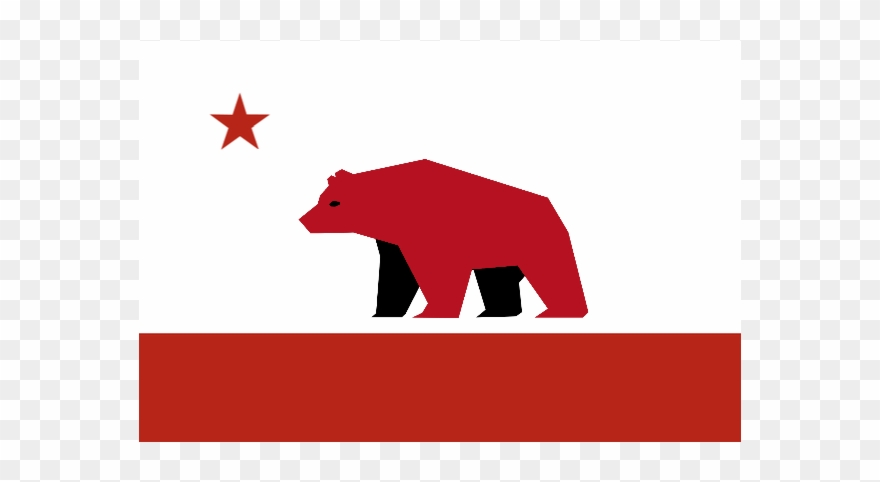 California Flag Redesign Clipart.
