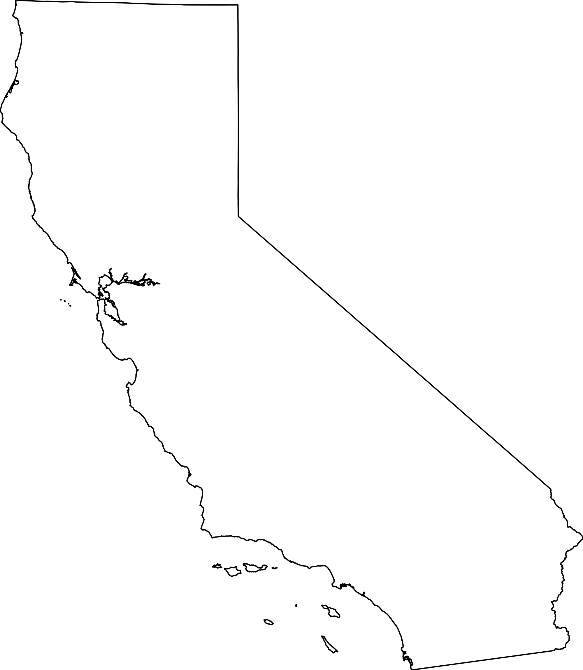 California Map PNG Transparent California Map.PNG Images..