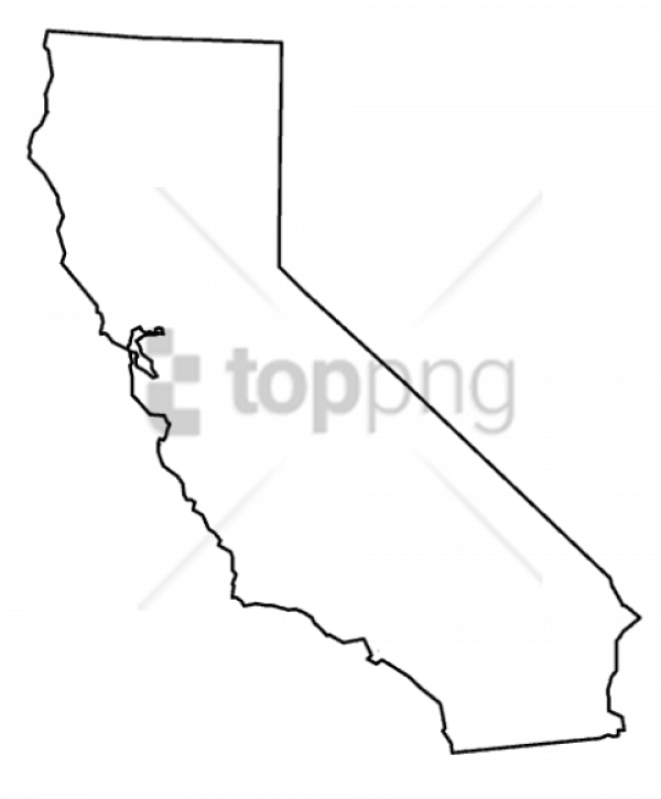 California Outline Png Images Transparent Png Vector, Clipart, PSD.