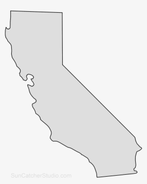 California Outline PNG, Transparent California Outline PNG Image.