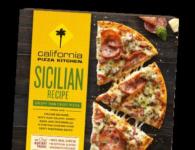 Frozen Pizza from California Pizza Kitchen.
