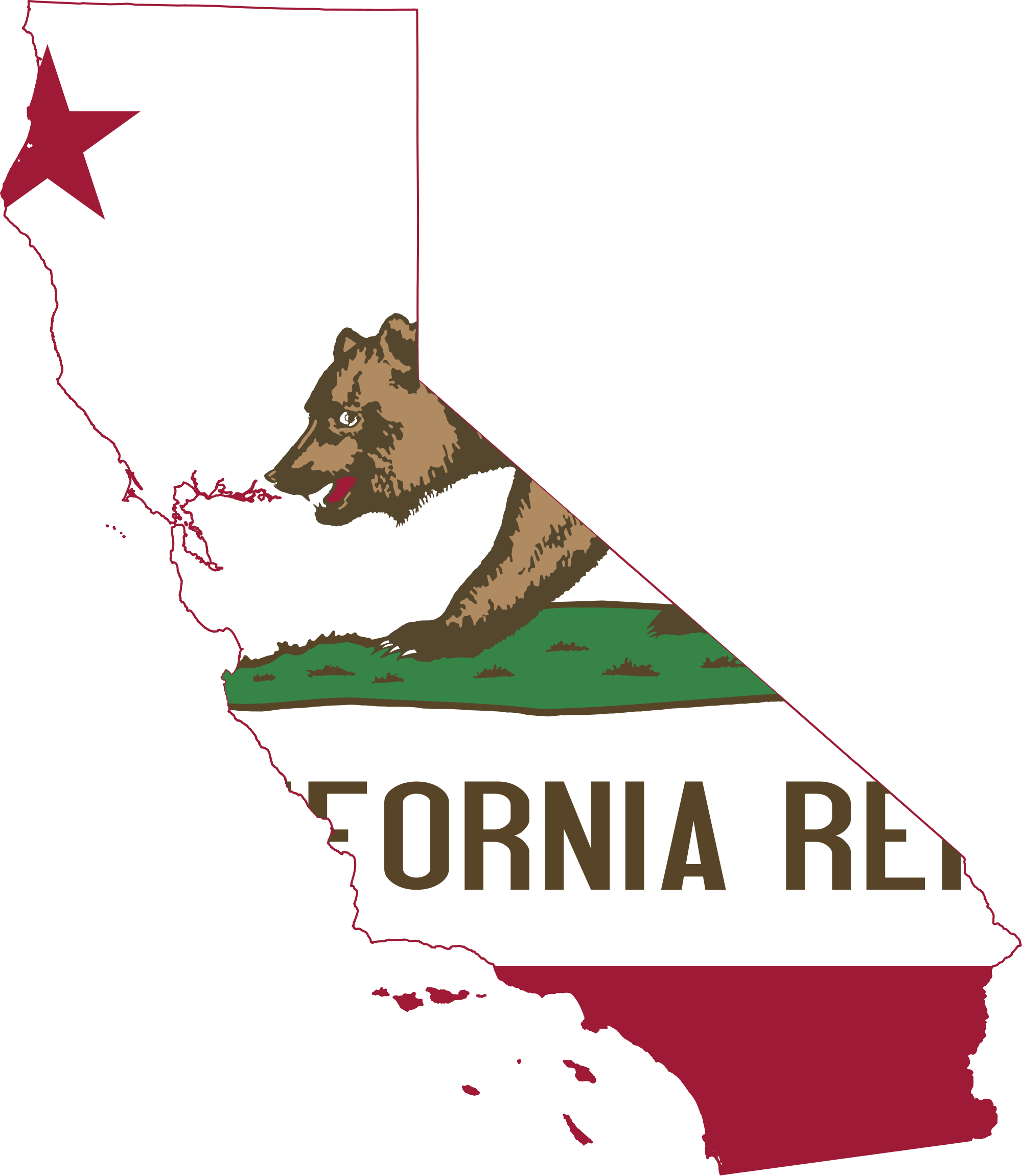 California Map PNG Transparent California Map.PNG Images..
