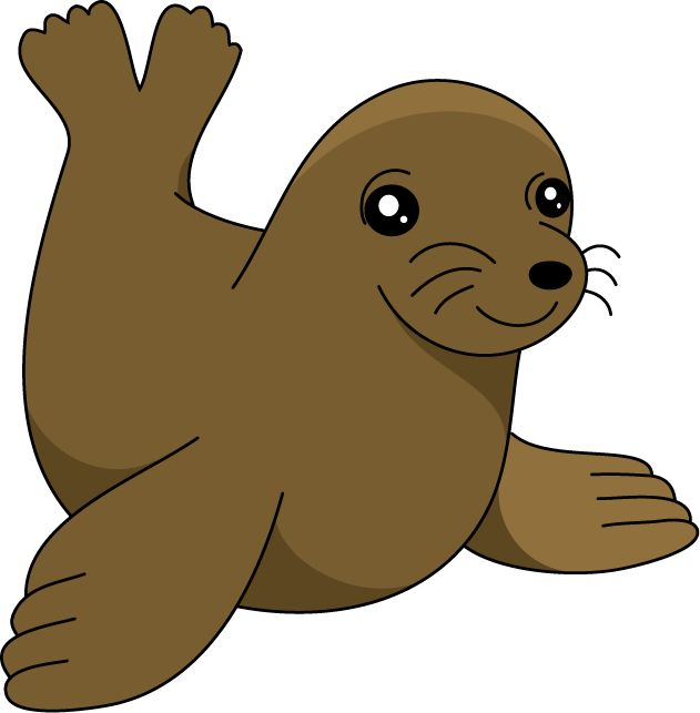 Clipart sea lion.