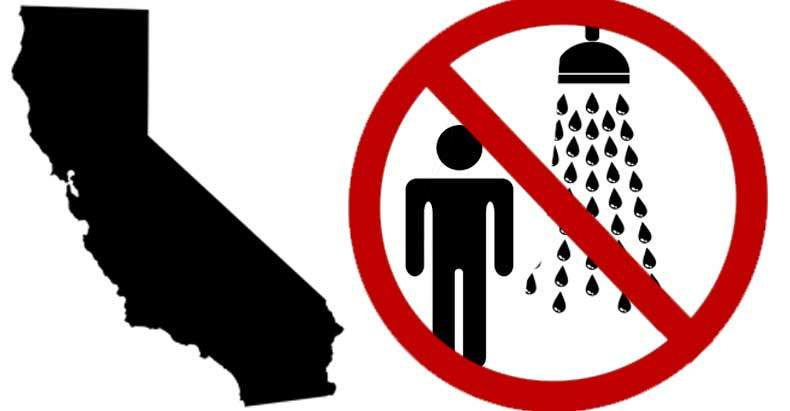 CA Residents Fined $500 a Day for Long Showers While Big Business.