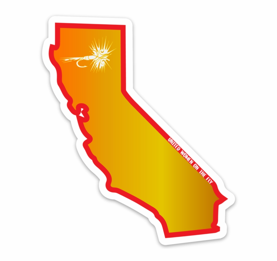 Uwotf California State Sticker Free PNG Images & Clipart Download.