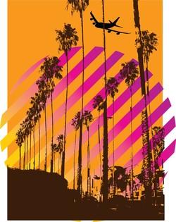 California graphics, vector California.