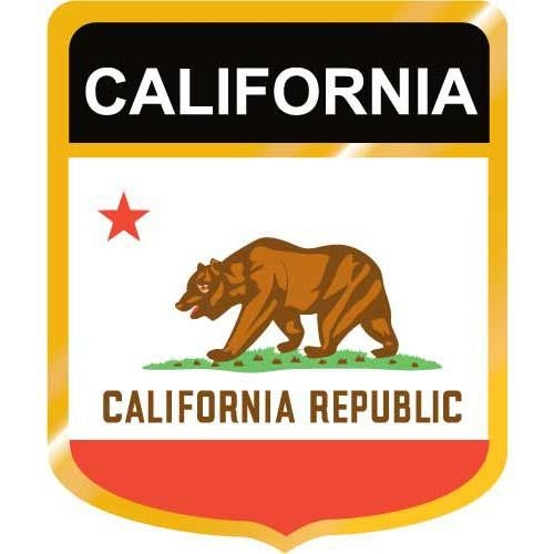Clipart of california flag.