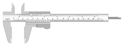 Caliper Stock Illustrations.