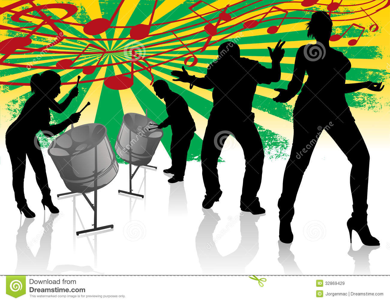 Street Party Clipart.