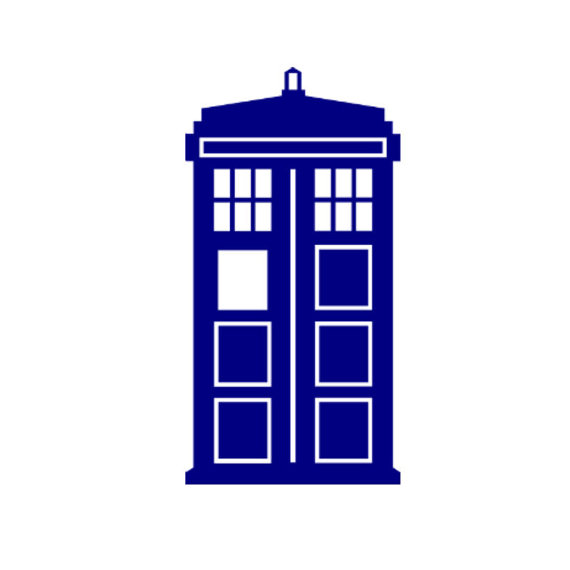 Items similar to Dr. Who Tardis Police Call Box Vinyl Decal on Etsy.