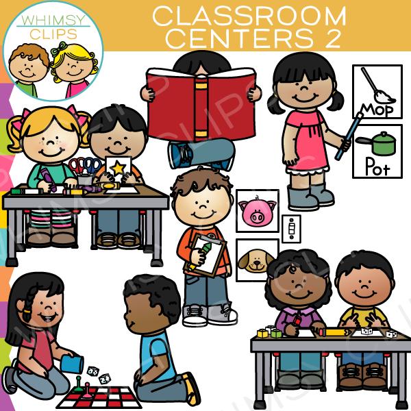 Classroom Center Clipart.
