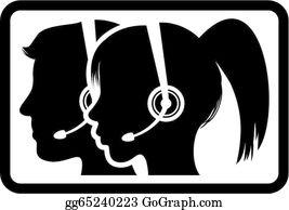Call Center Clip Art.