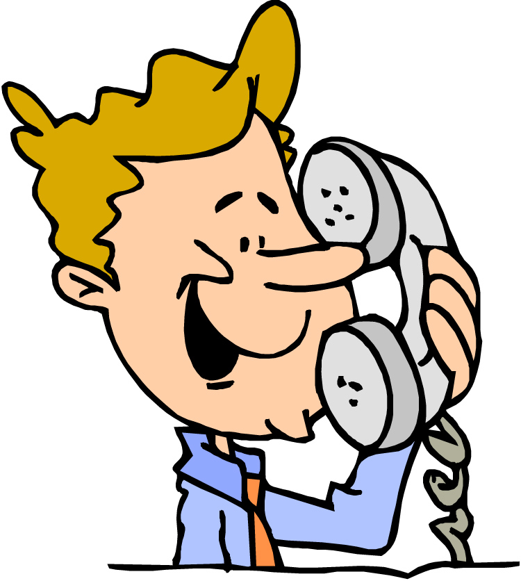 Phone call clipart images.