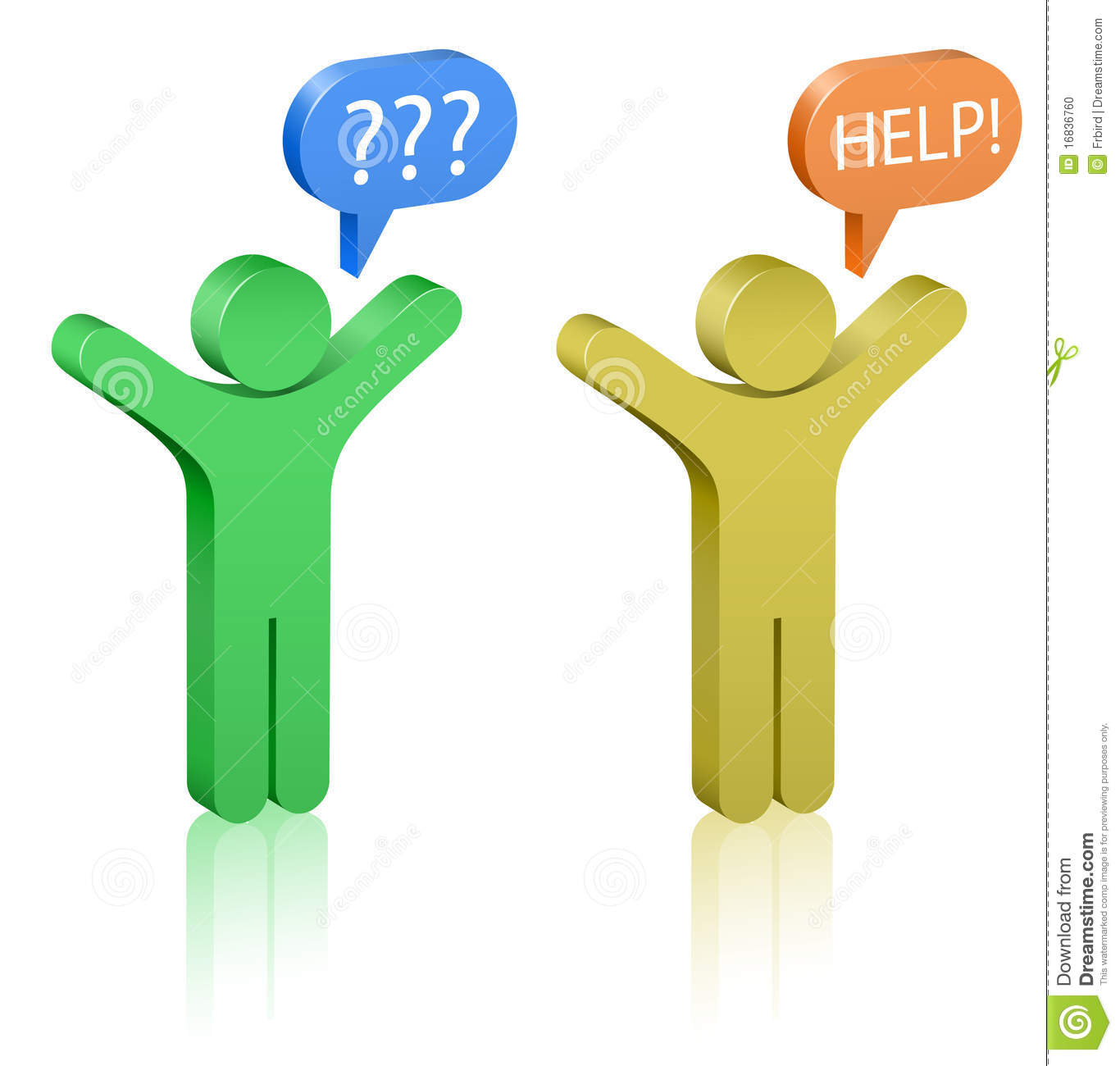 Call For Help Clipart.