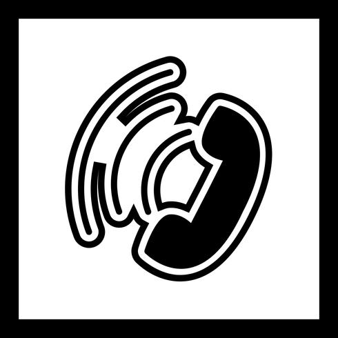 Active Call Icon Design.