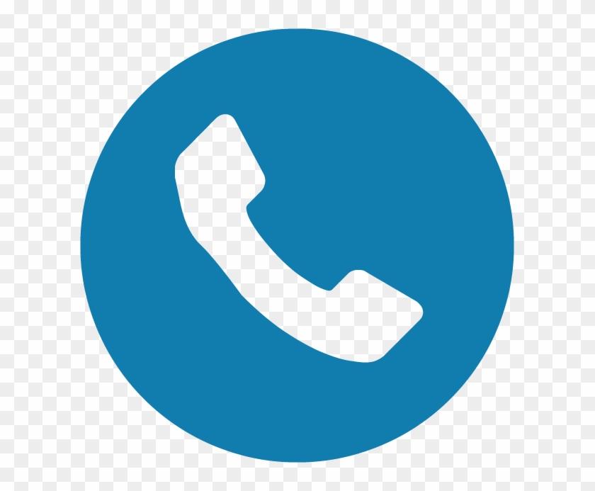 Phone Icons Dark Blue.