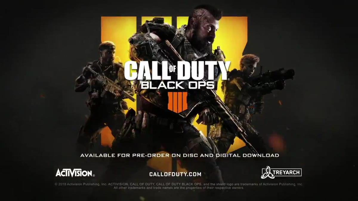 Call of Duty: Black Ops 4 reveal confirms no advanced movement, new.