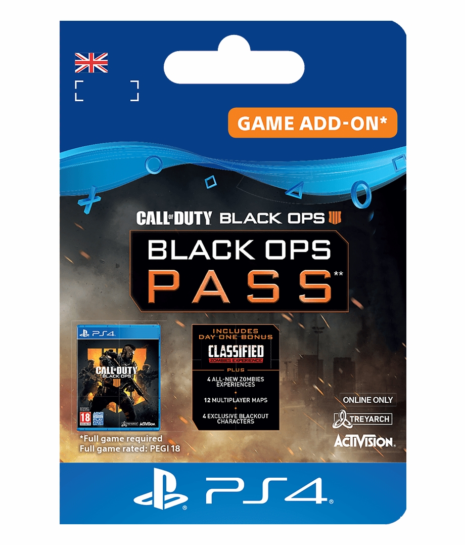 Call Of Duty Black Ops 4 Season Pass Free PNG Images & Clipart.