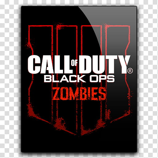 Icon Call of Duty Black Ops Zombies transparent background PNG.