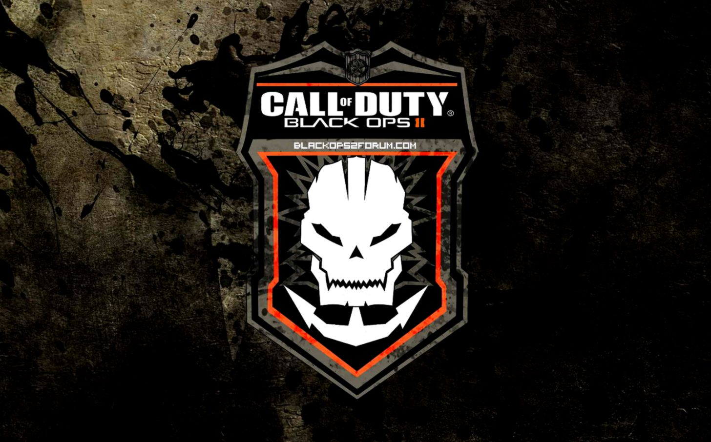 Call Of Duty Black Ops 2 Dark Logo Wallpapers.