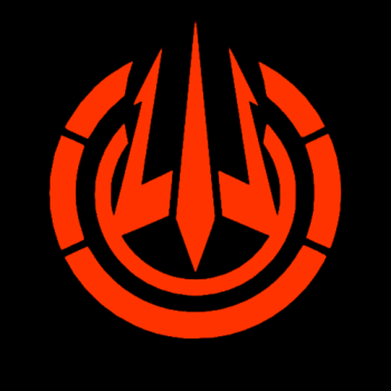 Call Of Duty Black Ops 3 Trident Logo Decal.