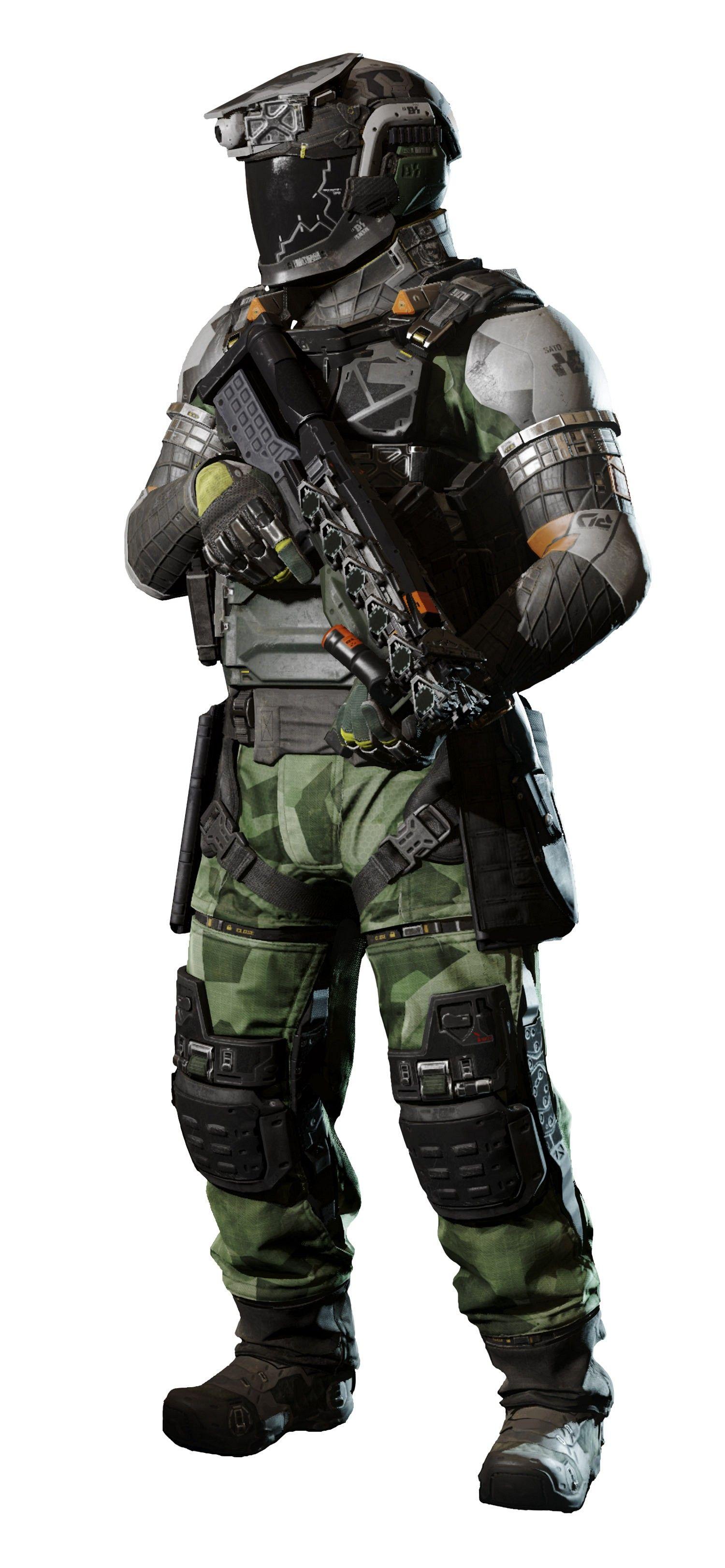COD Infinite Warfare MP Rig Warfighter Complete Call of Duty.