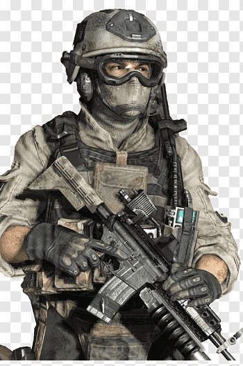 Call Of Duty 4 Modern Warfare cutout PNG & clipart images.