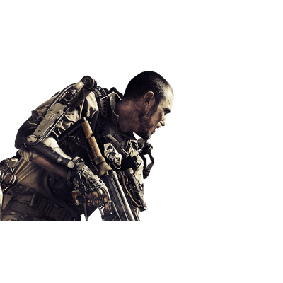 Call Of Duty Soldier transparent PNG.