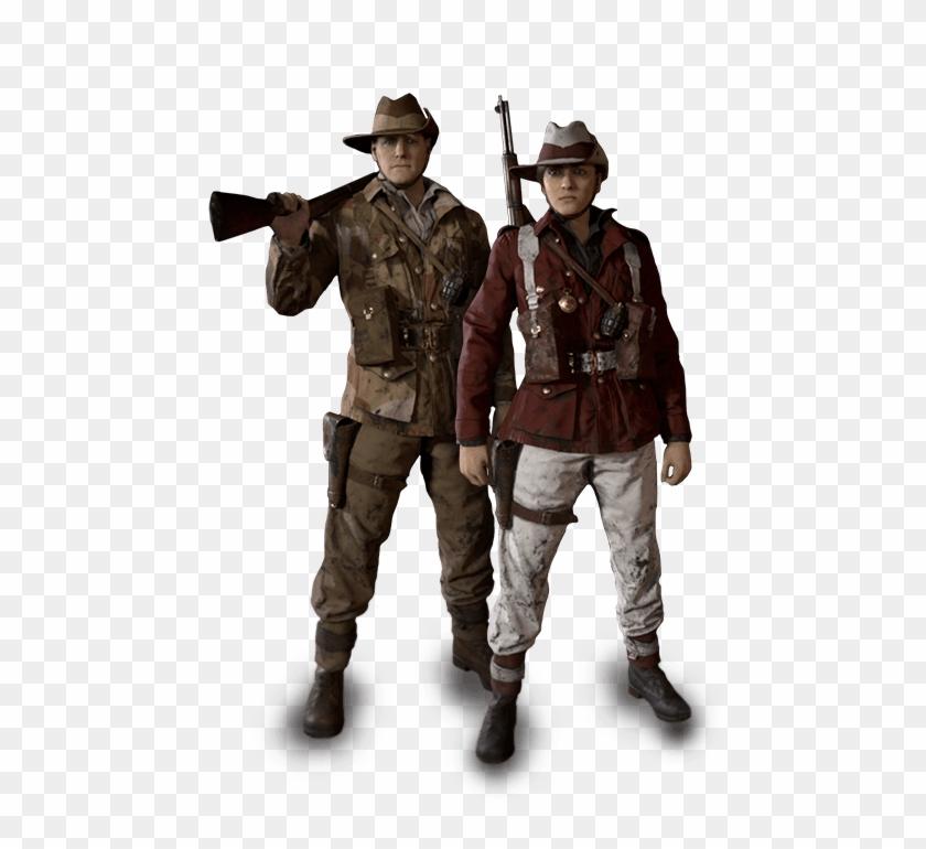 Call Of Duty Ww2 Australian Uniforms, HD Png Download.
