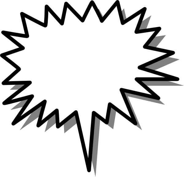 Callout clip art Free vector in Open office drawing svg ( .svg.