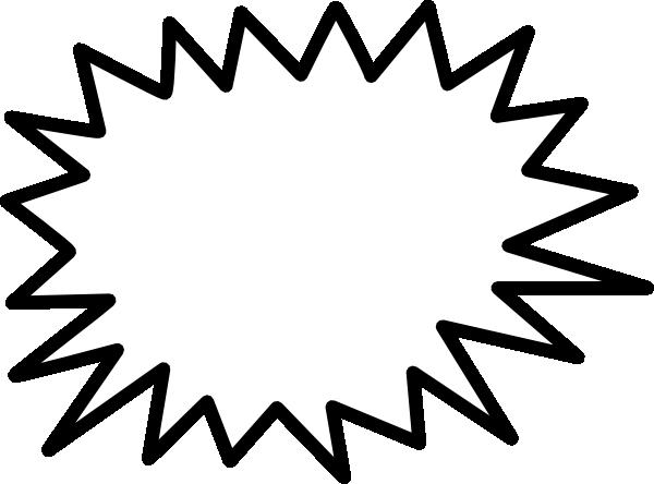 Sunburst Call Out Clipart.