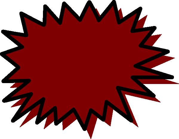 Brown Callout Clip art.