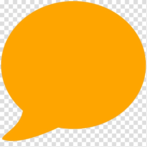 Yellow chat bubble icon, Speech balloon Computer Icons Callout, And.