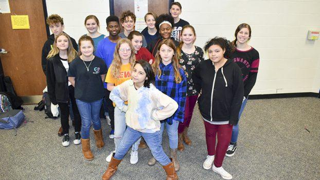 Callaway Middle School starts drama club.
